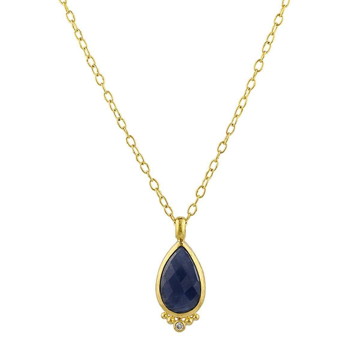 Elements Sapphire Necklace-GURHAN-JewelStreet US
