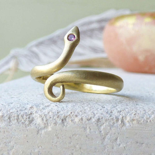 18kt Chumana Pinkie Or Toe Ring-Shakti Ellenwood-JewelStreet US