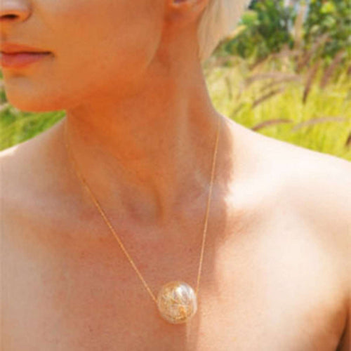 Clarity Pendant and Chain-Brave Chick-JewelStreet US