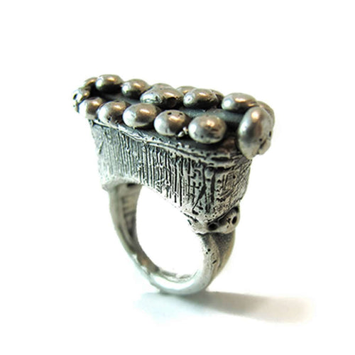 Cleopatra Sterling Silver Ring-Private Opening-JewelStreet US