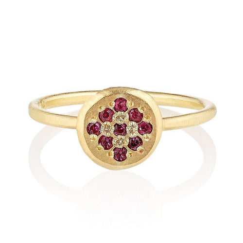 18kt Fairtrade Ruby Delphina Ring-Shakti Ellenwood-JewelStreet US