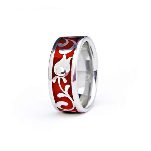 Edua Elegant Ring Cherry-Diuss Fine Jewelry-JewelStreet US