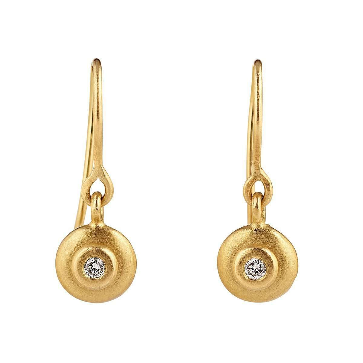 18kt Echo Diamond Earrings-Shakti Ellenwood-JewelStreet US
