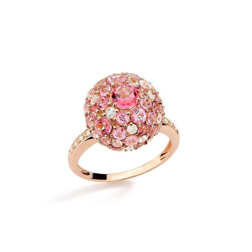 Baobab Bubbles Ring in Rose Gold-Brumani-JewelStreet US
