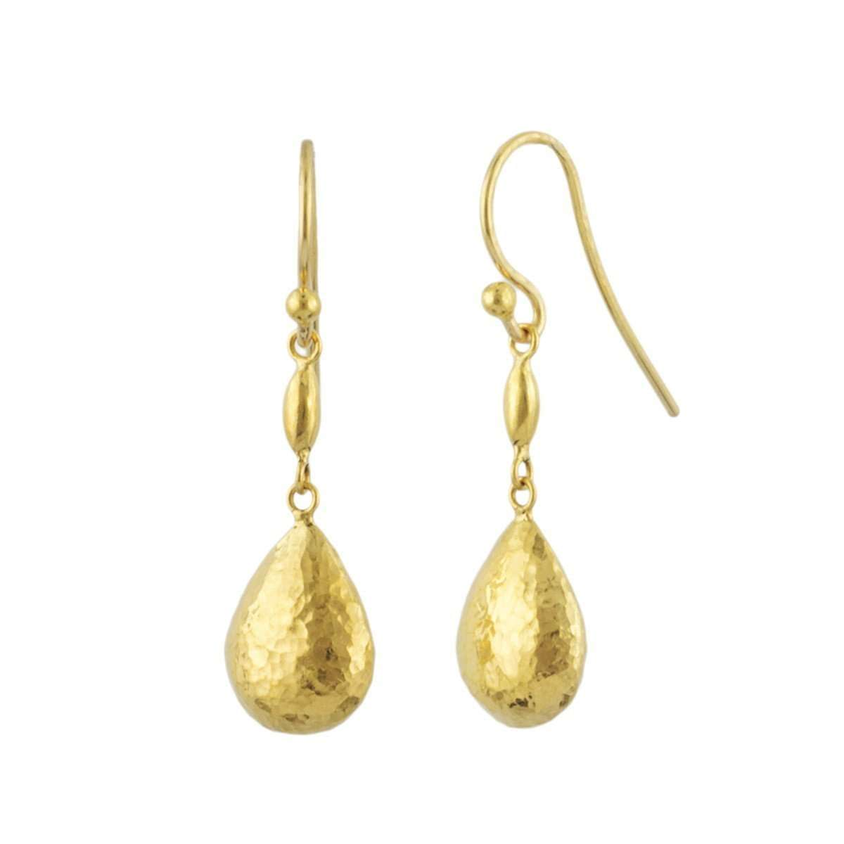 Delicate Drop Earrings-GURHAN-JewelStreet US