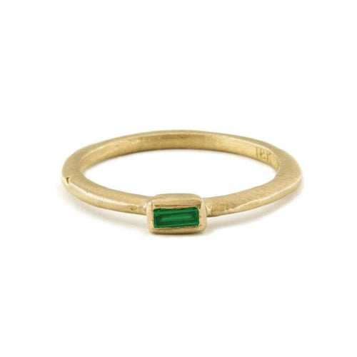 18kt Emerald Cut Emerald Ring-Page Sargisson-JewelStreet US