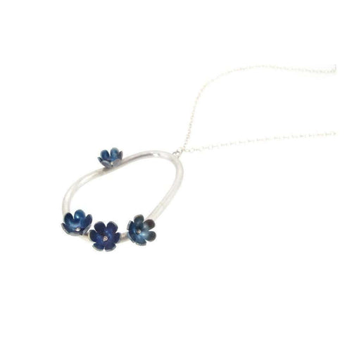 Forget-Me-Not Pendant-Sian Bostwick Jewellery-JewelStreet US