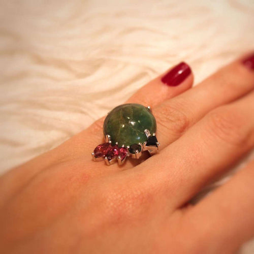 Garimpo Ring-Isa Bagnoli-JewelStreet US