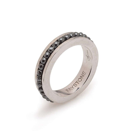 Gemini Ring-Faystone-JewelStreet US