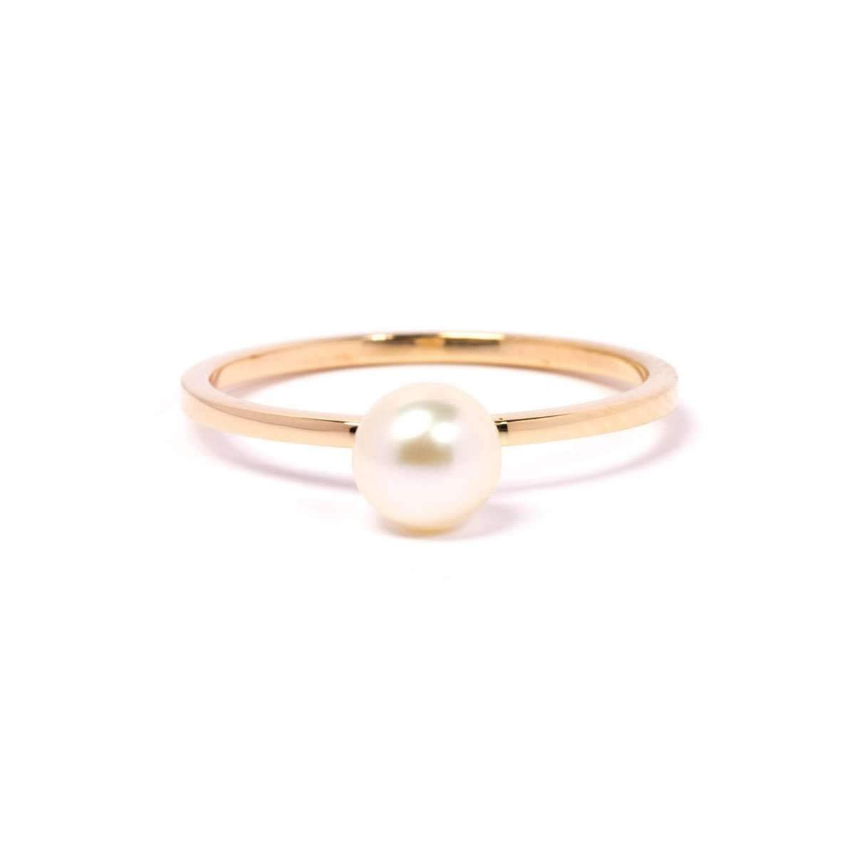 Gold & Pearl Satellite Ring ,[product vendor],JewelStreet