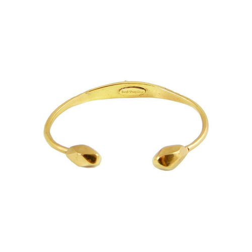 Gold Tortoise Bangle-Beryl Dingemans Jewellery-JewelStreet US