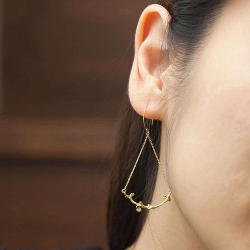 Garni Swing Earrings-ileava jewelry-JewelStreet US