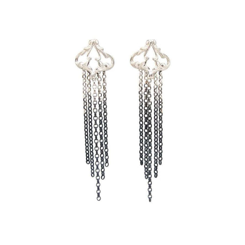Iseult Swing Drop Earrings-Sian Bostwick Jewellery-JewelStreet US