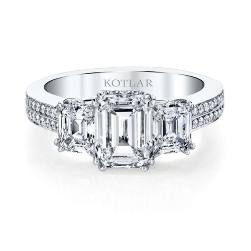 Emerald Cut Harmonie Ring-Harry Kotlar-JewelStreet US