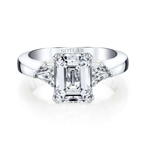 Emerald Cut Classico Ring-Harry Kotlar-JewelStreet US