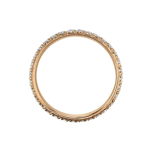 French Cut Artisan Pave Band-Harry Kotlar-JewelStreet US