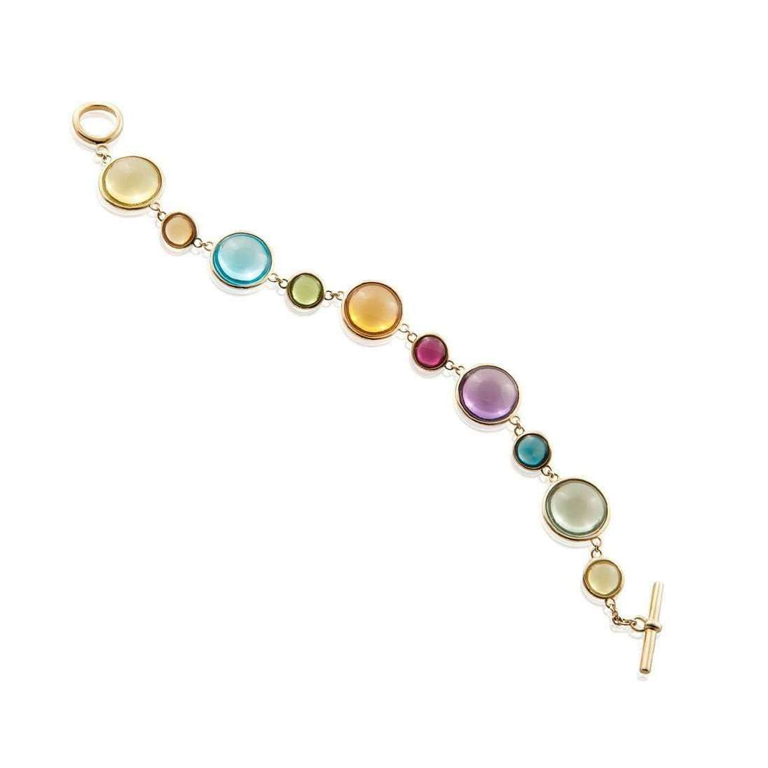 Mischief Multi Color Disc Bracelets-Goshwara-JewelStreet US