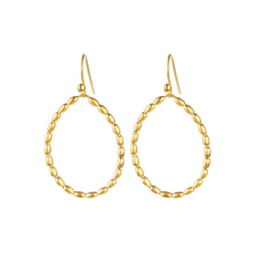 Golden Gouttes De Soleil Earrings-juniimjuli-JewelStreet US