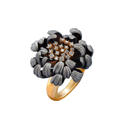 Gold & Diamond Astra Eden Ring | Chekotin Jewellery
