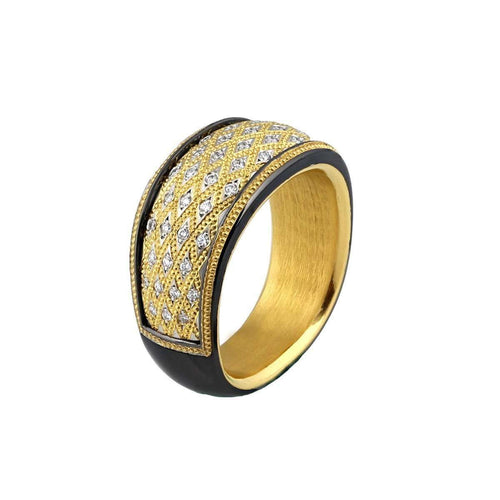 """Bejewelled"" Ring-Zoltan David-JewelStreet US"