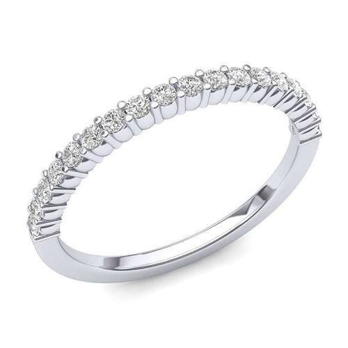 18-Stone Wedding Band-Luminar-JewelStreet US