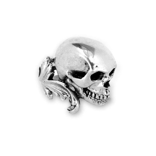 Colossal Skull Ring-Rings-Metal Couture-JewelStreet
