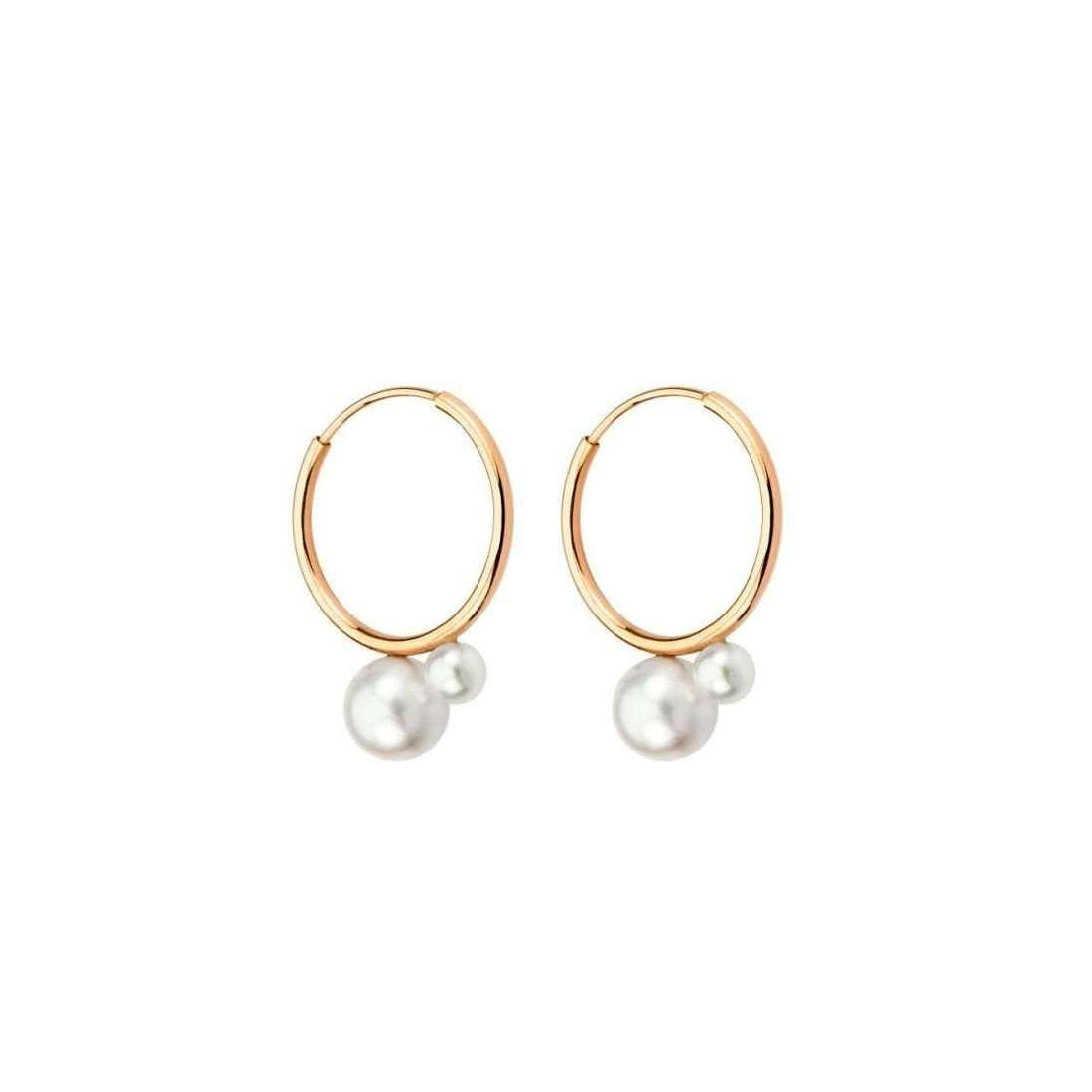 Pure - Yellow Gold Earrings and Akoya Pearls | JewelStreet US