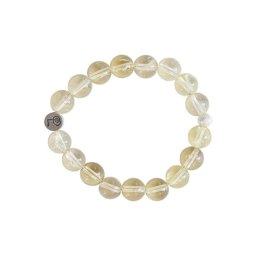 Healing Lemon Quartz Bangle-Lucy and Penny-JewelStreet US
