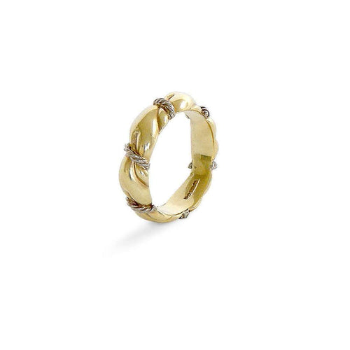 MATERIAL Yellow Gold Ring-Serena Fox-JewelStreet US