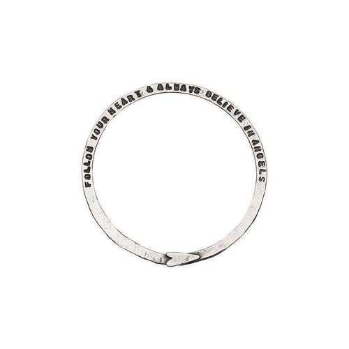 Hammered Bangle-Kate Chell Jewellery-JewelStreet US