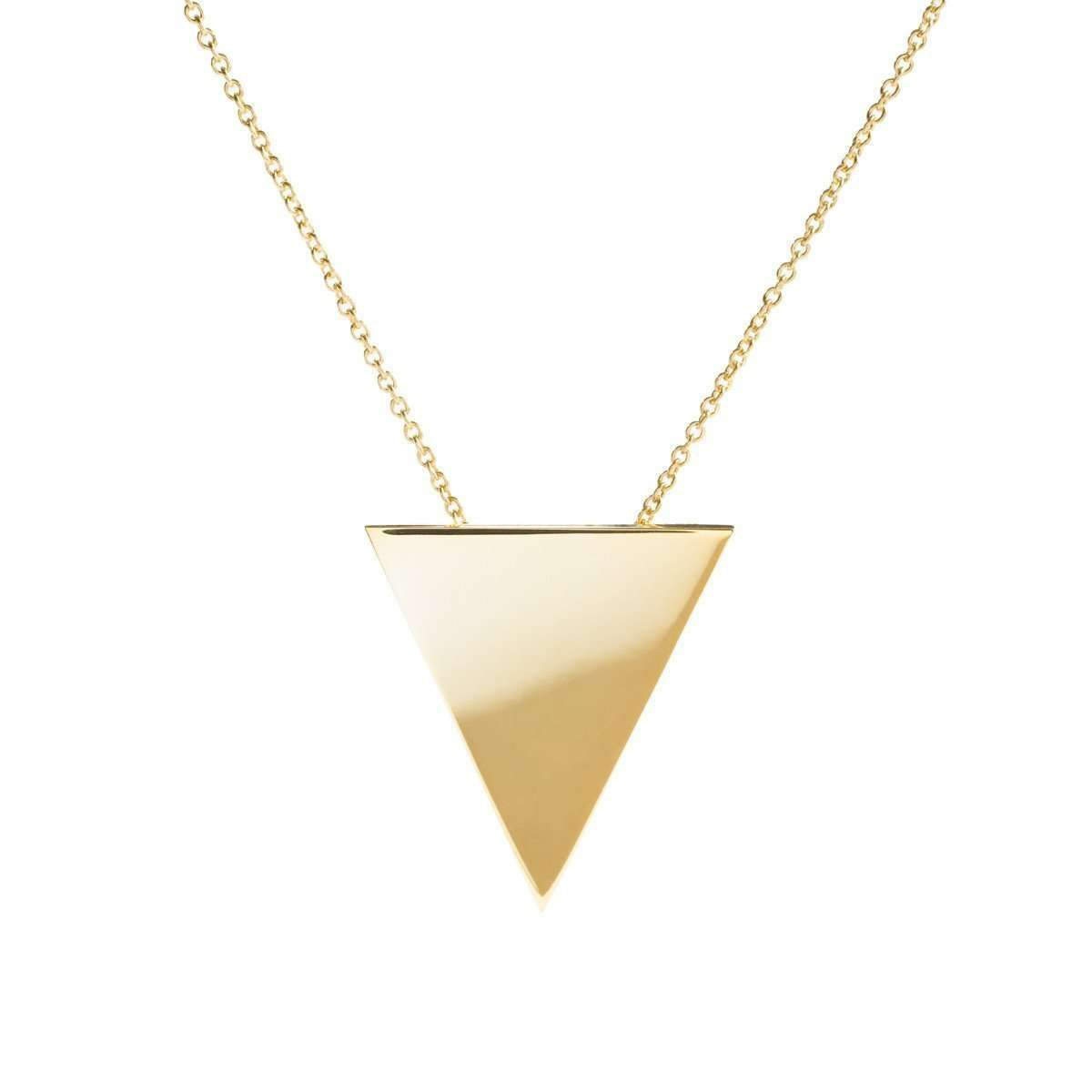 Metrica Vermeil Tri Necklace-Ali Haley-JewelStreet US