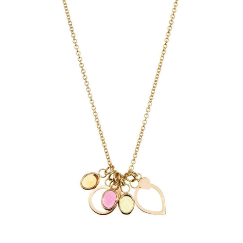 Bloom 18kt Gold Charm Necklace-Susan Driver-JewelStreet US