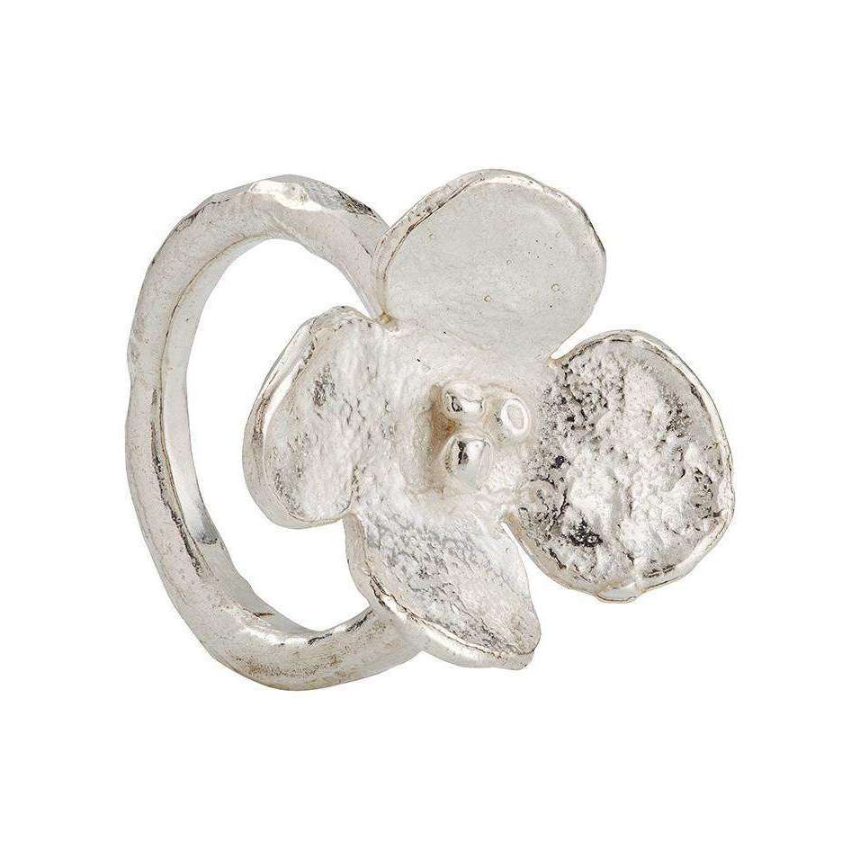 Melted Flower Ring-Kate Chell Jewellery-JewelStreet US