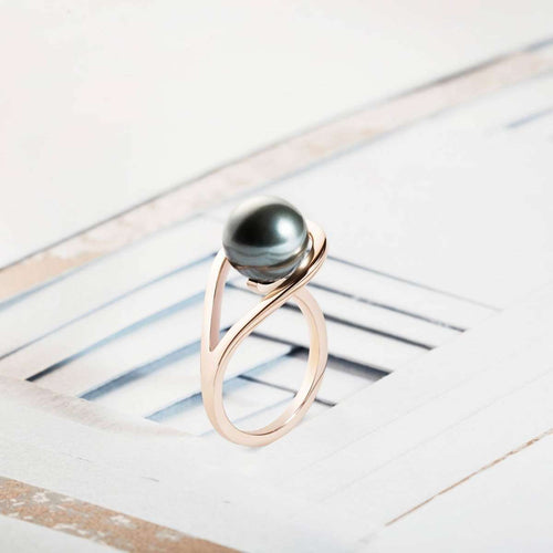 Aurea Rose Gold Ring-Neola-JewelStreet US