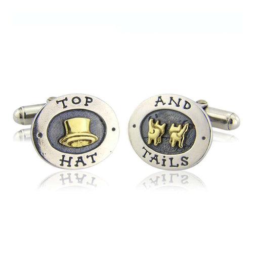 'Top Hat and Tails' Cufflinks