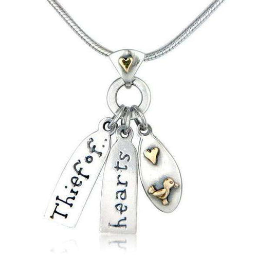 'Thief of Hearts' Necklace-Nick Hubbard Jewellery-JewelStreet US