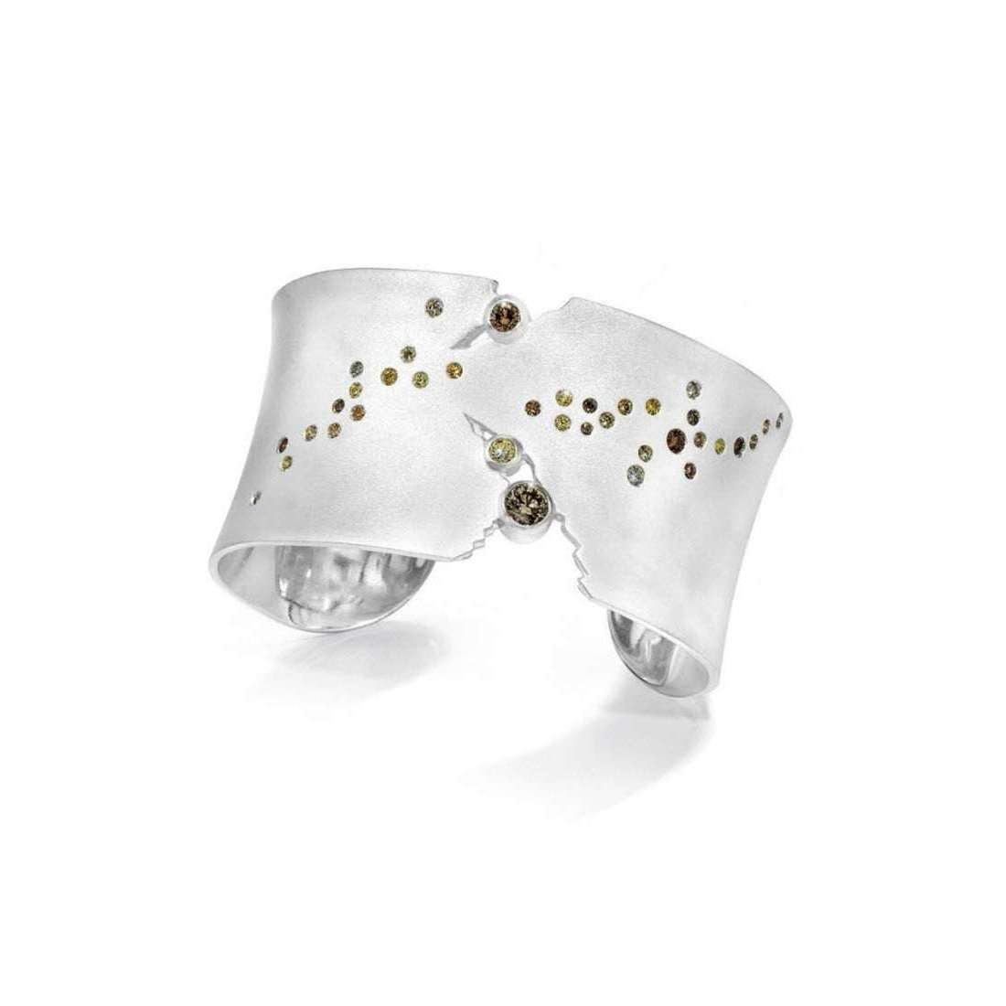 Milky Way Cuff-LJD Designs-JewelStreet US