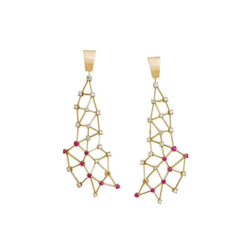 Constelación GL-Earrings-Jaime Moreno Designer Jewelry-JewelStreet