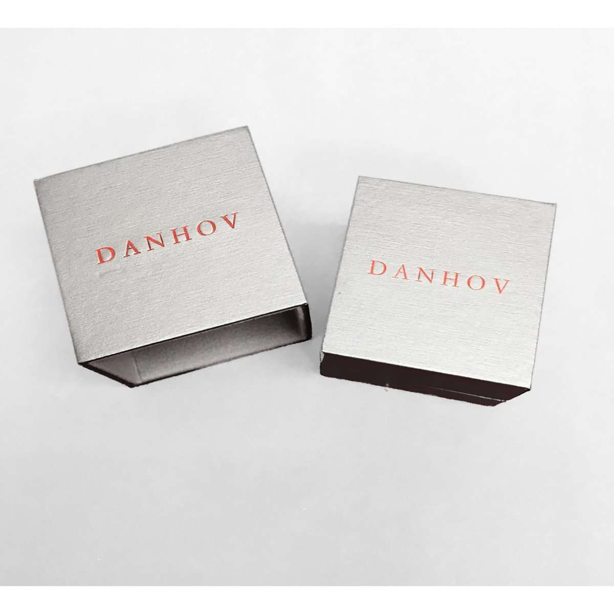 Danhov Classico Shank Platinum Engagement Ring-Danhov-JewelStreet US