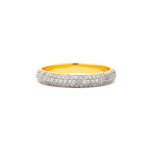 18kt Diamond Pave Band-Syna-JewelStreet US