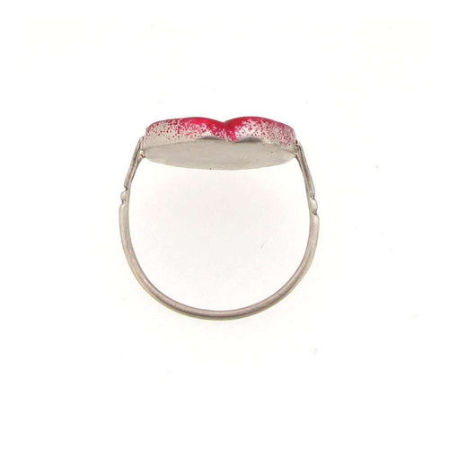 Wonderland Painting The Roses Red Ring-Sian Bostwick Jewellery-JewelStreet US