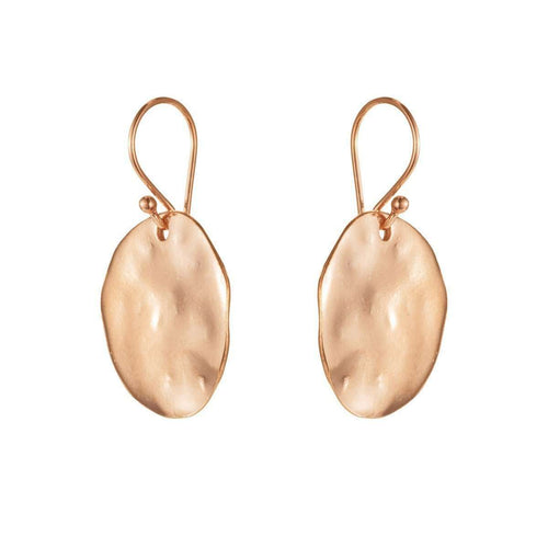 River Stone Marissa Rose Gold Earrings-Van Peterson-JewelStreet US