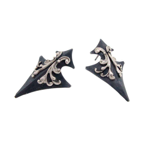 Tristan's Sheild Earrings-Sian Bostwick Jewellery-JewelStreet US
