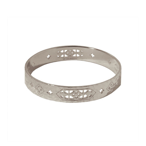 Sterling Silver Jaipur Bangle ,[product vendor],JewelStreet