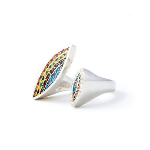 Mosaic Ring ,[product vendor],JewelStreet
