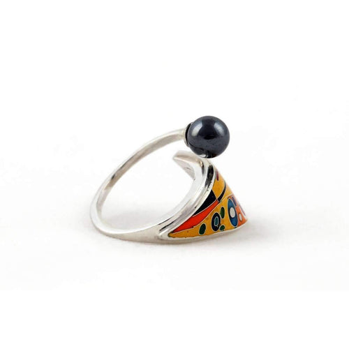 Ring Kiss inspired by Gustav Klimt ,[product vendor],JewelStreet