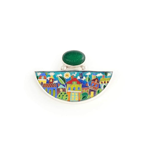 Enchanting Houses Pendant ,[product vendor],JewelStreet