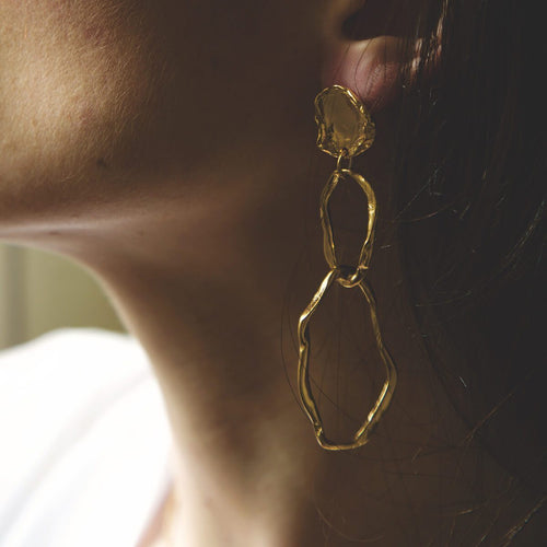 Gold Coventina Earrings ,[product vendor],JewelStreet