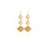 Gold Goddess Hanging Earrings ,[product vendor],JewelStreet