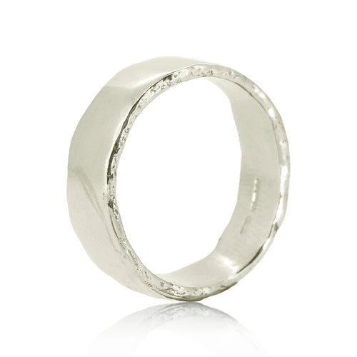 Dart White Gold Ring ,[product vendor],JewelStreet